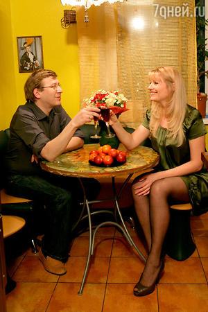 Анна Ардова с мужем