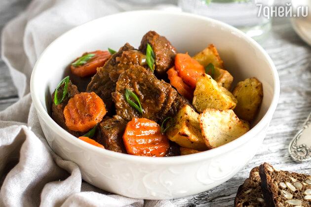 Рагу из говядины: рецепт от шеф-повара Мишеля Ломбарди