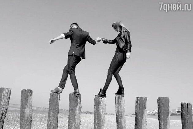 Тимур Родригез и Светлана Ходченкова в клипе «Осколки памяти»