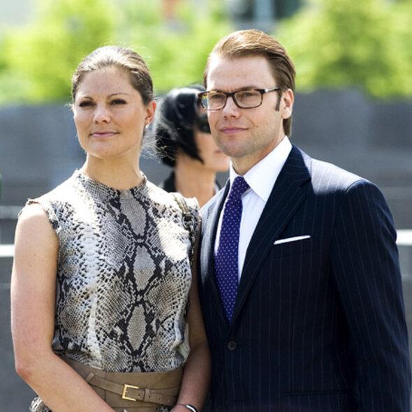 Кронпринцесса Виктория и принц Даниель