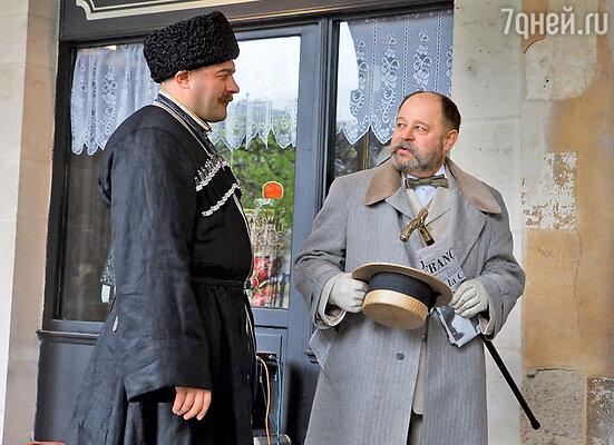 Владимир Ильин сыграл аристократа Друбича, который помог Поддубному найти свое призвание