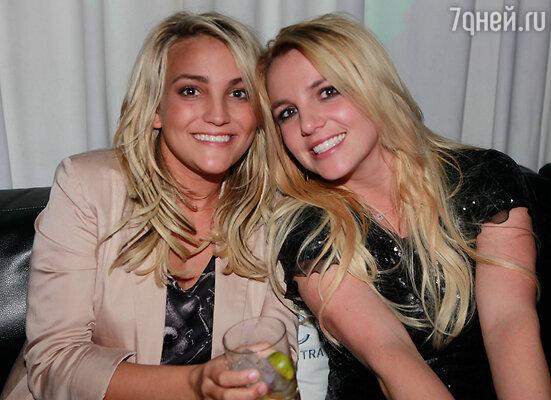 Бритни Спирс с сестрой