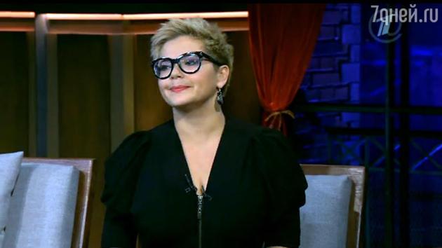 Ирина Пегова  в шоу «Вечерний Ургант»