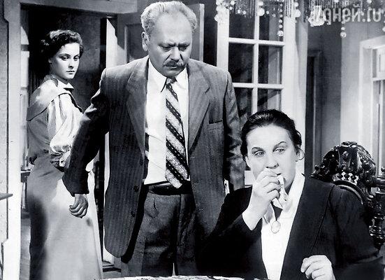 В фильме «Разные судьбы» родителей моей героини сыграли Лев Свердлин  и Ольга Жизнева