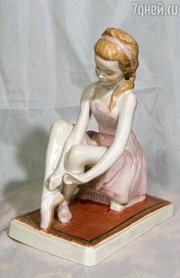 Я стала моделью для статуэтки Алексея Пахомова «Юная балерина» (это мой экземпляр, а оригинал хранится в Русском музее)...
