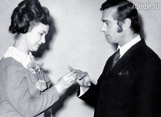 Свадьба с Борисом.  В прошлом году мы отметили рубиновую — сорок лет совместной жизни