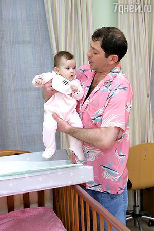 Григорий Лепс с дочерью Николь