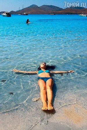 Анна Плетнева на Сардинии