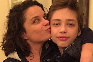 Наташа Королева увезла 14-летнего сына в Майами