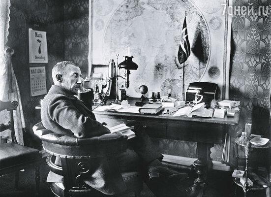 Руаль Амундсен стал национальной гордостью Норвегии, его называли «полярный Наполеон»