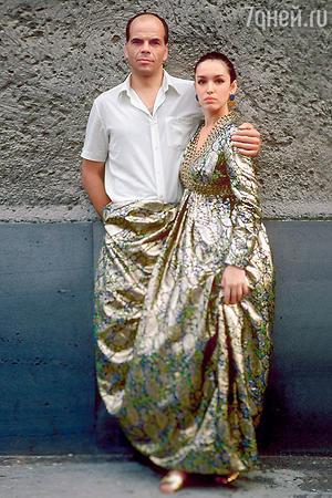 Анна Самохина с Арнисом Лицитисом