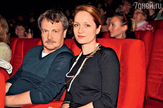 Виктория Исакова с мужем Юрием Морозом