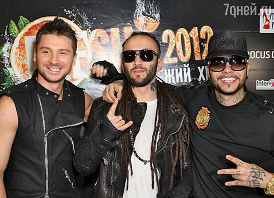 Сергей Лазарев, DJ M.E.G и Тимати