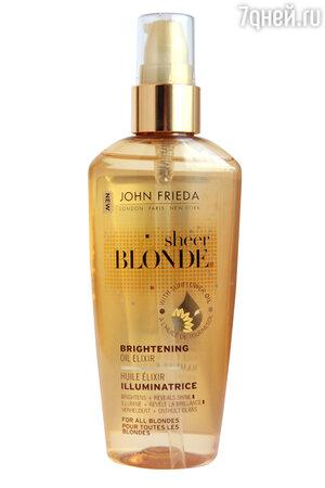 Масло-элексир Sheer Blonde от John Frieda