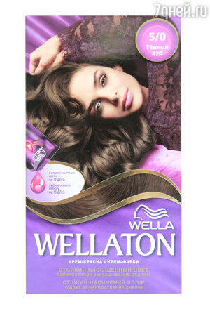 Крем-краска Wellaton 2-in-1 Color System от Wella