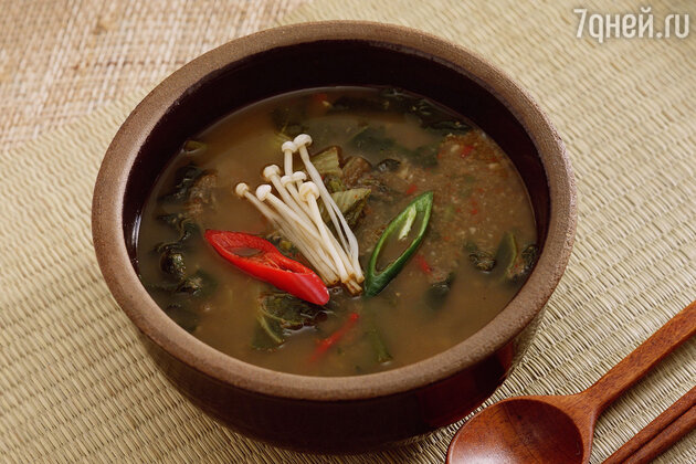 Южная Корея: суп хэджангук