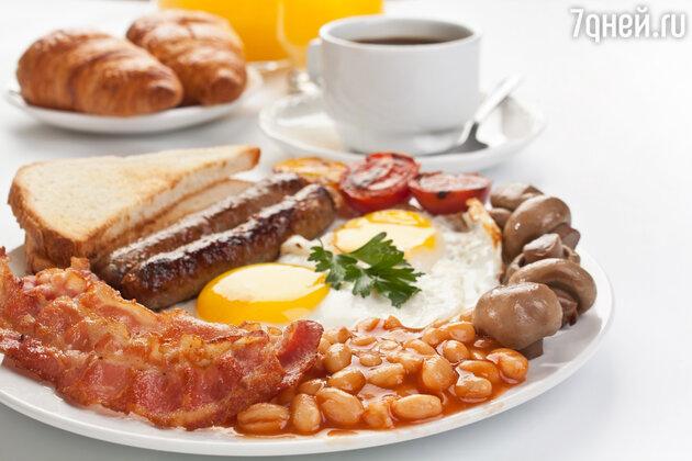 Великобритания: традиционный английский завтрак