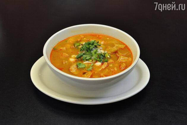Мексика: суп менудо