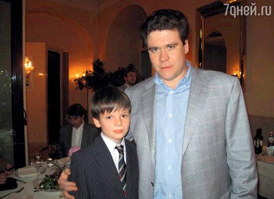 Со своим кумиром Денисом Мацуевым