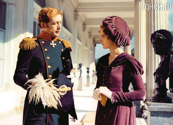 Василий Ливанов (император) и Ирина Купченко (Екатерина Трубецкая)