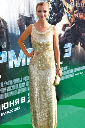 Екатерина Вилкова. Открытие 33-го ММКФ. 2011 г.