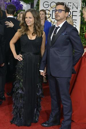Роберт Дауни-младший с женой Сьюзан  Леви