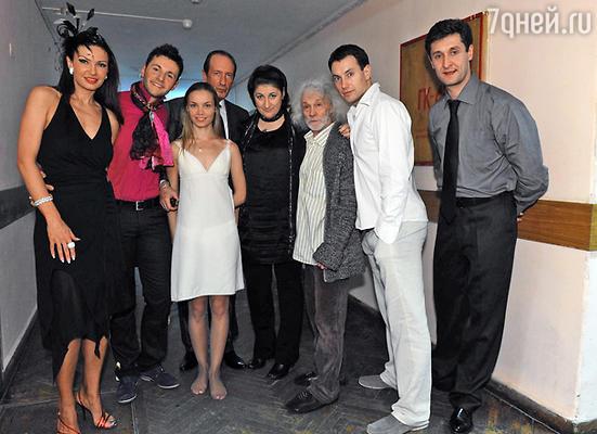 Актеры,занятые в спектакле