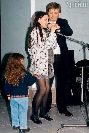 Владимир Жечков с дочерью