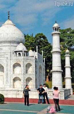 Величественный Тадж-Махал