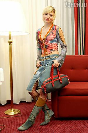 Катина любимая сумочка — предмет зависти всех лондонских панков