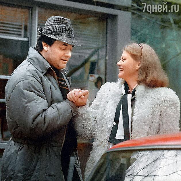 Александр Ширвиндт и Ирина Муравьева в фильме «Самая обаятельная и привлекательная». 1985 г.
