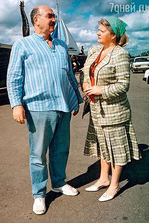 Леонид Эйдлин и Ирина Муравьева