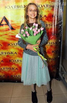 """Актриса Дарья Балабанова на премьере фильма """"Юленька"""""""