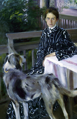У Юлии Евстафьевны кавалеров хватало, но она отдала предпочтение Кустодиеву... «Портрет Юлии Кустодиевой» работы Б. Кустодиева, 1903 г.