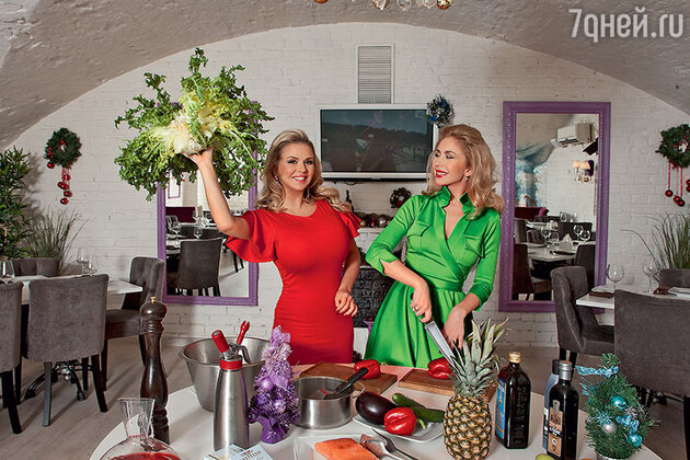 Анастасия Гребенкина и Анна Семенович