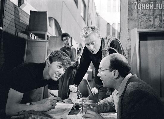 С Андреем Мироновым вфильме «Мой младший брат». 1962 г.