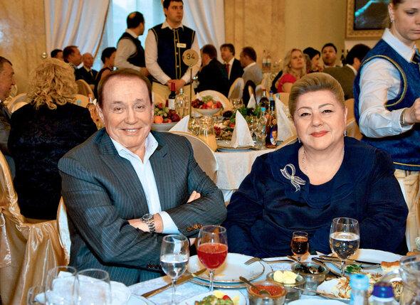 Александр Масляков с женой Светланой
