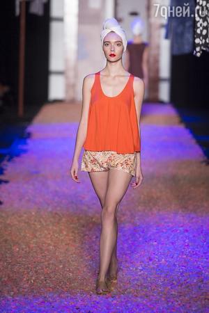 Показ Маруси Зайцевой на Mercedes-Benz Fashion Week Russia
