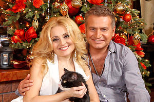 18 новогодних елок российских звезд