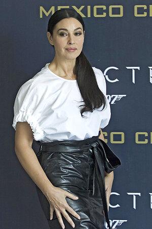 Моника Беллуччи на премьере «007: СПЕКТР».