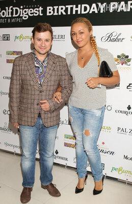 Андрей Гайдулян с подругой Дианой