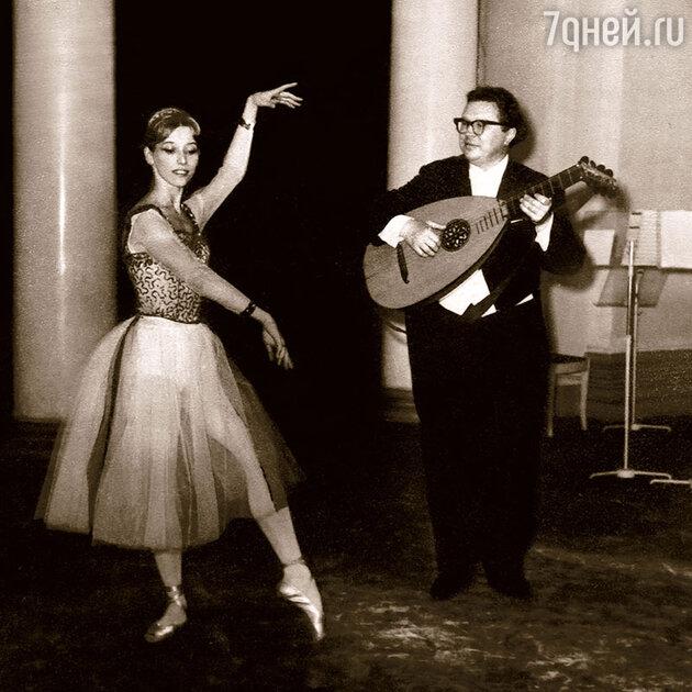 Владимир Вавилов и Наталия Макарова