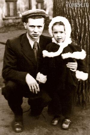 Владимир Вавилов с дочерью Тамарой