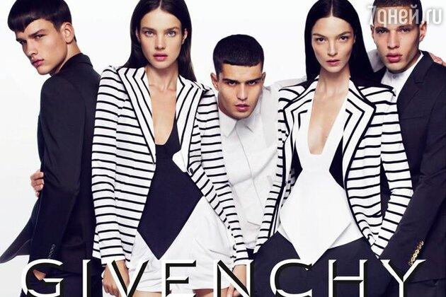 Наталья Водянова в рекламной кампании Givenchy