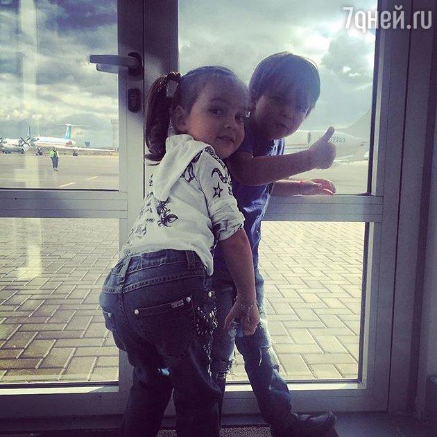 Дети Филиппа Киркорова: Алла-Виктория и сын Мартин
