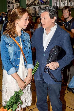 Александр Збруев с дочерью Татьяной