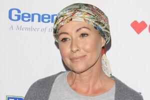 Заболевшая раком Шеннен Доэрти завершила курс лечения