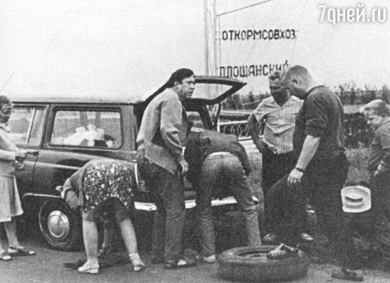 «По дороге на отдых у нас пробило колесо. Космонавт Герман Титов ехал мимо, узнал Никулина и остановился, чтобы помочь»