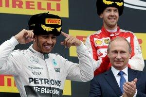 Экс-возлюбленный Николь Шерзингер стал победителем «Формулы-1» в Сочи