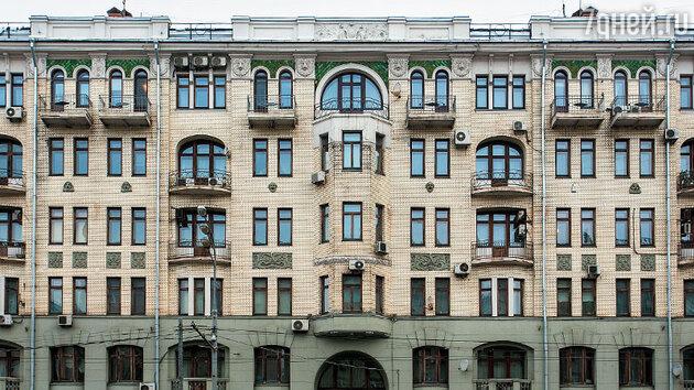 Дом № 19 по Садовой-Кудринской улице